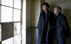 "It has been two years since ""Sherlock"" was last originally broadcasted in the UK."