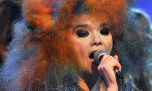 The fabulously weird Bjork (Photo Credit: Andre Csillag)