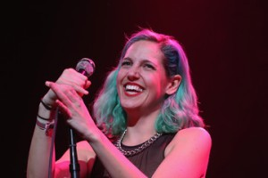 Lizzy Plapinger of MS MR and her always cool hair